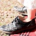 子どもの靴選び。少し大きめを選んでも大丈夫?