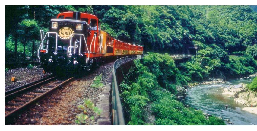 関西週末の絶景 トロッコ列車