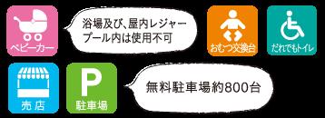奈良健康ランド サービス